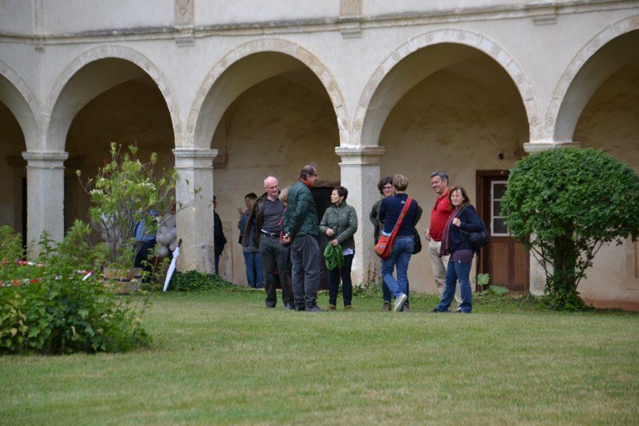 Innenhof Schloss Deutschkreutz